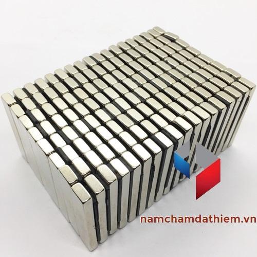 Nam châm hình khối L50x10x5 mm mạ Nikel